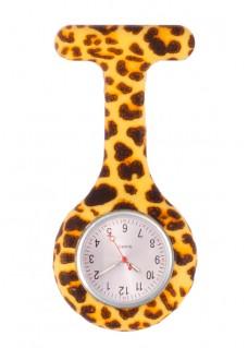 Silikon Schwesternuhr Leopard