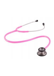 Clinical Doppelkopf Stethoskop Rosa