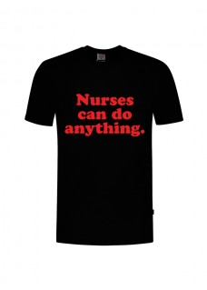 T-Shirt Nurses Can Do Anything Schwarz