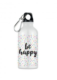 Trinkflasche Be Happy