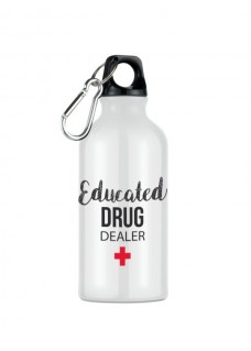 Trinkflasche Educated