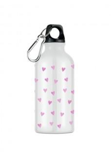 Sport-Trinkflasche Rosa Herzen