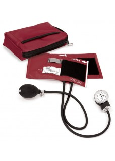 Blutdruckmessgerät mit Tragetasche Burgund