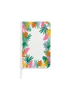 Notizbuch A5 Tropische Blätter