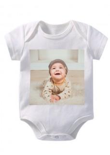 Baby Strampler mit eigenem Foto