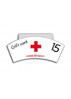 Geschenkgutschein 15€ Nurse O'Clock