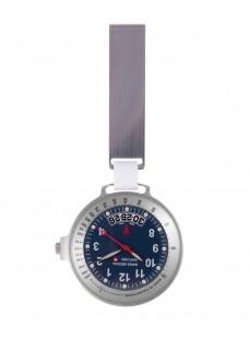 Swiss Medical Uhr Care Line Silber Blau - Limited Edition