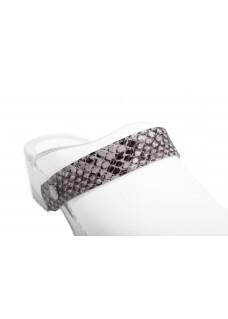 Click Strap Snake Grey