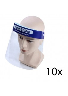Gesichtsschutz Folie - 10 Stück