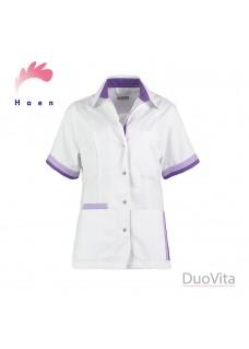 Haen Kasack Bente Weiß Violett