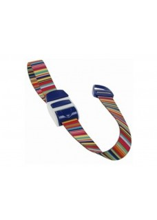 Stauschlauch Barcode blau