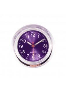 Uhr Dunkelpurpur