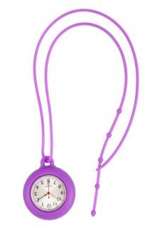 Silikon Schlüsselband Uhr Lila