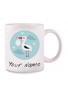 Tasse Storch Baby