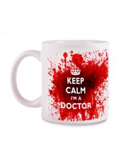 Tasse Doctor mit Namensaufdruck
