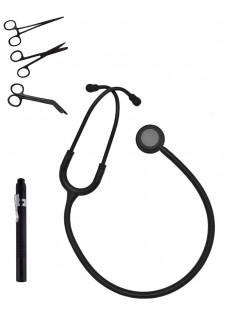 Hospitrix Kit Stealth Black mit Gravur