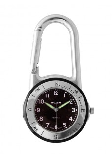 Karabiner Uhr NOC467
