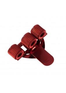 Stift-Halter Dreifach Rot
