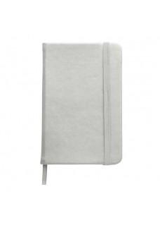 Notizbuch A6 Silber