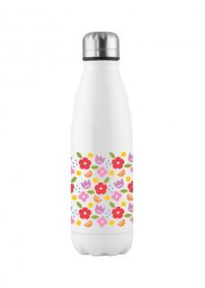 Trinkflasche Blumen