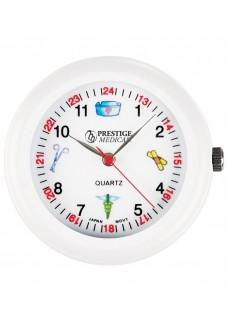 Stethoskop Uhr Weiß