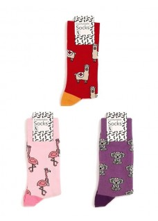 Damensocken Set Tiere