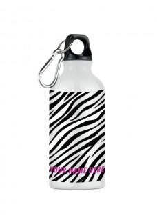 Trinkflasche Zebra