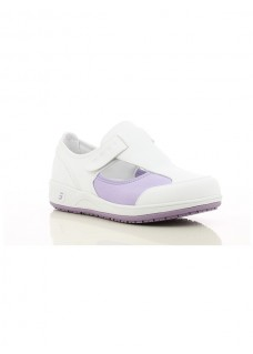 Oxypas Safety Jogger Camille Weiß/Lila