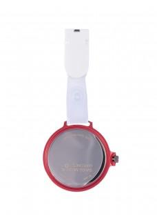 Swiss Medical Uhr Care Line Rot