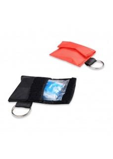 Beatmungsmaske Schlüsselanhänger Rot