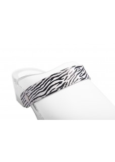 Click Strap Zebra White