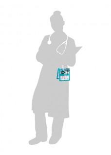 KEEN'S – Schwesternorganizer Pädiatrie mit GRATIS Zubehör