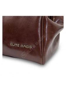 Elite Bags CLASSY'S Braunes Leder