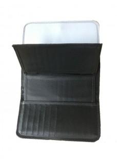 Brieftasche Symbole Grau