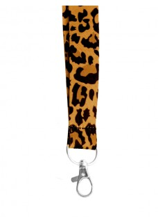 Sicherheits-Schlüsselband Panther Gelb