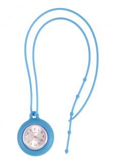 Silikon Schlüsselband Uhr Blau