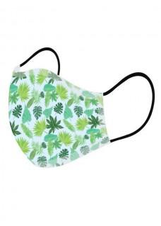 Alltagmaske Tropische Blätter