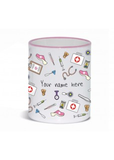 Tasse Medizinische Symbole Rosa