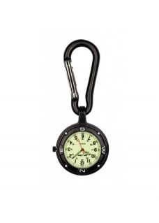 Karabiner Uhr NOC451 Stealth Black