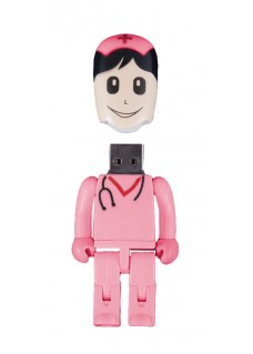 USB Stick Krankenschwester Rosa