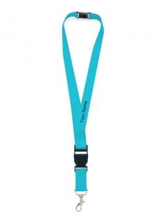 Sicherheits-Schlüsselband Blau