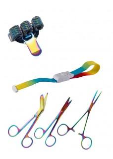 Set Persönliche Ausrüstung Metal Rainbow
