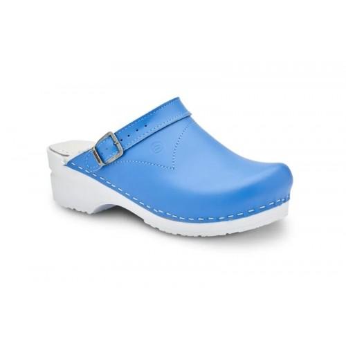 Toffeln Flexi Clog Sky Blau