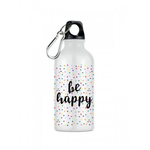 Sport-Trinkflasche Be Happy
