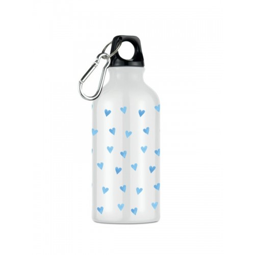 Sport-Trinkflasche Blaue Herzen