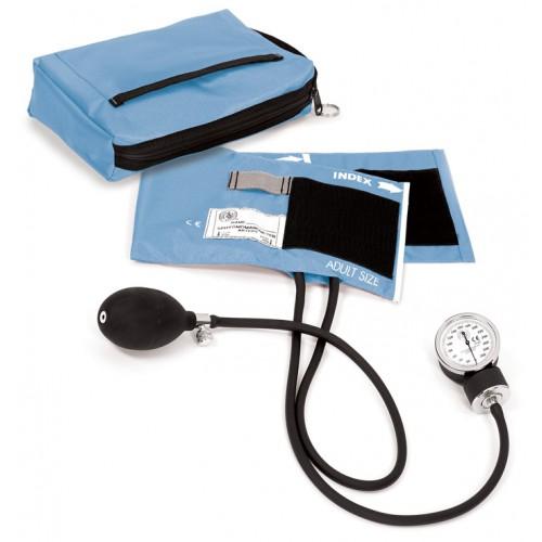 Blutdruckmessgerät mit Tragetasche Hellblau