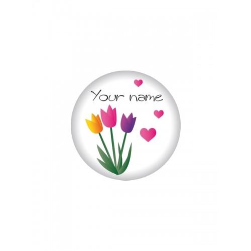Button Blumen