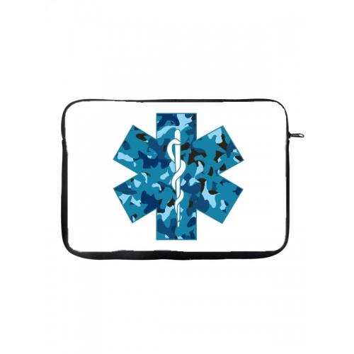 """Tablet-Tasche 10"""" Äskulapstab"""