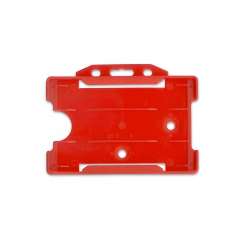 Kartenhalter Rot