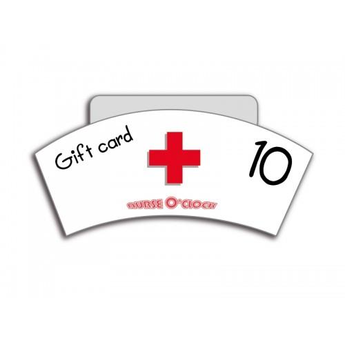 Geschenkgutschein 10 € Nurse O'Clock